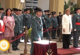José María Rangel toma posesión como Jefe de la Comandancia de Badajoz