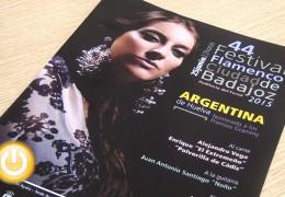 Argentina de Huelva protagonista del 44 Festival Flamenco Ciudad de Badajoz
