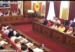 Pleno extraordinario de junio de 2015 del Ayuntamiento de Badajoz
