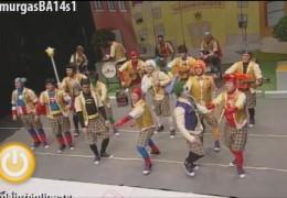 Murgas Carnaval de Badajoz 2014: Water Closet en semifinales