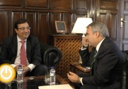 Vara se compromete con los grandes proyectos de Badajoz