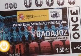 La ONCE dedica un cupón a Badajoz y su premio Reina Sofía de Accesibilidad