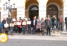Badajoz guarda silencio contra la violencia machista