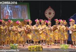 Murgas Carnaval de Badajoz 2016: Pa4Días en preliminares