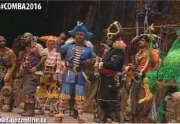 La leyenda de la nave de los desertores en la Final Concurso de Murgas del Carnaval de Badajoz 2016