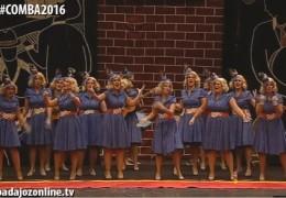 La Galera en la Final del Concurso de Murgas del Carnaval de Badajoz 2016
