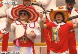 Los Mirinda en la Final del Concurso de Murgas del Carnaval de Badajoz 2016