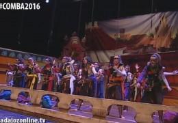 Las Chimixurris en la Final del Concurso de Murgas del Carnaval de Badajoz 2016