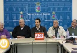 PSOE exige el adecentamiento de las calles Mérida y Augusto Vázquez