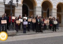 Minuto de silencio por el asesinato de Silvia Hernández