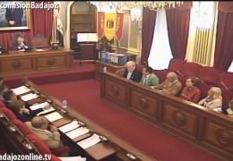 Comisión Informativa de Salud y Medio Ambiente del Ayuntamiento de Badajoz.