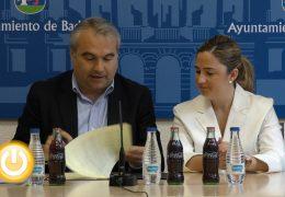 El Ayuntamiento de Badajoz y Coca Cola renuevan el convenio de colaboración