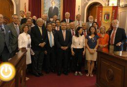 Recepción a las distintas Sociedades Económicas de Amigos del País