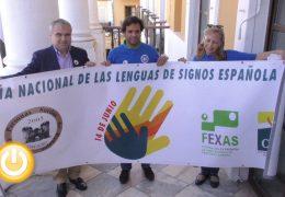Badajoz celebra el Día Nacional de la Lengua de Signos