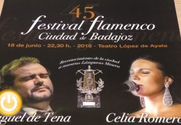 Reconocimiento a dos artistas flamencos pacenses