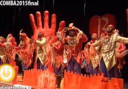 Dakipakasa  en la Final del Concurso de Murgas del Carnaval de Badajoz 2015