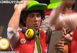 Los Murallitas en la Final del Concurso de Murgas del Carnaval de Badajoz 2015