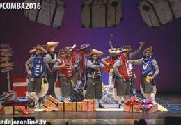 Murgas Carnaval de Badajoz 2016: Los Trotamundos en preliminares