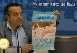 Badajoz se suma a la campaña manos limpias