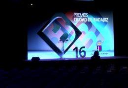 Gala Premios Ciudad de Badajoz 2016