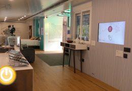 La ONCE presenta en Badajoz una casa inteligente, sostenible y accesible