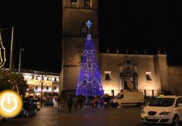 Badajoz estrena la Navidad con el encendido de luces