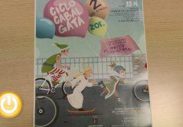 La ciclocabalgata solidaria recorrerá el parque del Guadiana