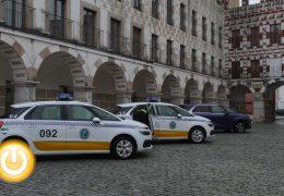 La policía local mejora su parque móvil con cuatro vehículos