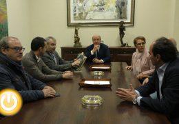 López Iglesias visita el Ayuntamiento como Director General de la Policía
