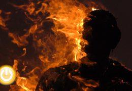 El marimanta no se libra de la quema