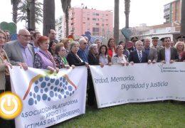 La AVT homenajea a las víctimas del terrorism