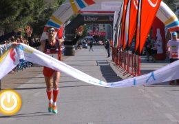 Bruno Paixao y Lidia Pereira ganan el Maratón Ciudad de Badajoz