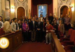 El alcalde recibe a un grupo de alumnos de la Universidad de Mayores de Costa Rica