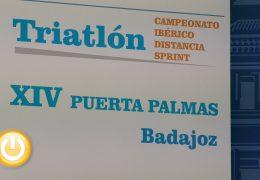 Badajoz vuelve a acoger el Campeonato Ibérico de Triatlón distancia Sprint
