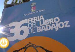 Comienza la XXXVI Feria del Libro de Badajoz