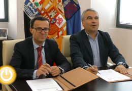 Convenio entre el Ayuntamiento de Badajoz y la Diputación para compartir la fibra óptica municipal