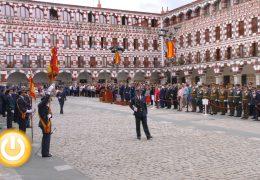 Casi 300 civiles juran bandera en Badajoz