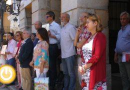 Badajoz guarda un minuto de silencio por un nuevo caso de violencia machista en Granada