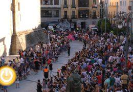 Recepción oficial al CD Badajoz por su ascenso