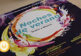 Presentada la XVI edición de Noches de Verano, Teatro y Música en Badajoz