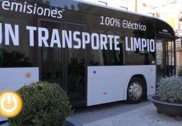 El Ayuntamiento presenta un autobús 100% eléctrico que estará a prueba hasta el 25 de noviembre
