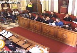 Pleno extraordinario de noviembre de 2017 del Ayuntamiento de Badajoz