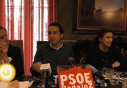 Cabezas asegura que Badajoz está asistiendo al final de la gestión del PP