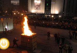 Las candelas de Santa Marina encienden la cuenta atrás del Carnaval