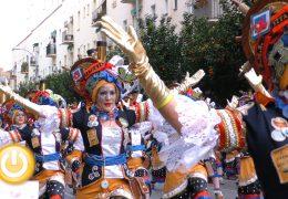 'Los colegas' de Miajadas ganan el primer premio del desfile de comparsas
