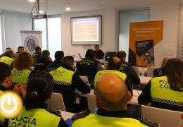 Jornadas de formación policial en la nueva Jefatura