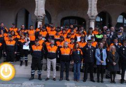 Entregadas en Badajoz las distinciones a los voluntarios de Protección Civil