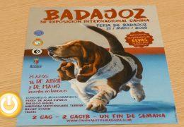 Badajoz celebrará su 38 exposición canina el 13 de mayo