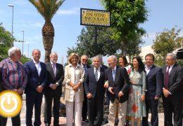 José Antonio Marcos Blanco ya tiene su calle en Badajoz