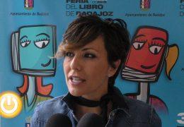 Sonsoles Ónega presenta su novela en la Feria del Libro de Badajoz